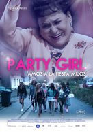 Party Girl - Mexican Movie Poster (xs thumbnail)