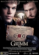 The Brothers Grimm - Hungarian Movie Poster (xs thumbnail)