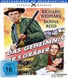 Backlash - German Blu-Ray cover (xs thumbnail)