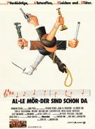 Clue - German Movie Poster (xs thumbnail)