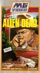 Alien Dead - Spanish VHS cover (xs thumbnail)