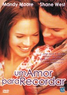 A Walk to Remember - Brazilian Movie Cover (xs thumbnail)