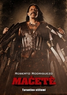 Machete - Lithuanian Movie Poster (xs thumbnail)