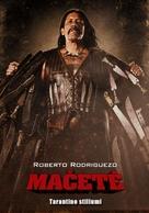 Machete - Lithuanian Movie Poster (xs thumbnail)