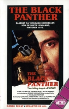 The Black Panther - Danish VHS movie cover (xs thumbnail)
