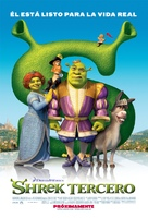 Shrek the Third - Argentinian Movie Poster (xs thumbnail)