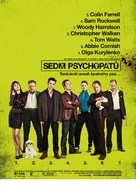 Seven Psychopaths - Czech Movie Poster (xs thumbnail)