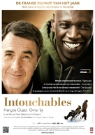 Intouchables - Dutch Movie Poster (xs thumbnail)