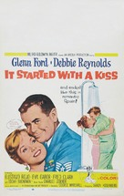 It Started with a Kiss - Movie Poster (xs thumbnail)