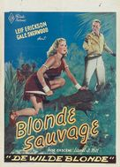 Blonde Savage - Belgian Movie Poster (xs thumbnail)
