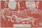The Invisible Man - Spanish poster (xs thumbnail)