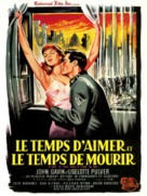 A Time to Love and a Time to Die - French Movie Poster (xs thumbnail)
