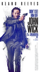 John Wick - Finnish Movie Poster (xs thumbnail)