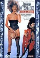 Josefine Mutzenbacher - wie sie wirklich war - German DVD cover (xs thumbnail)