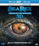 Sea Rex 3D: Journey to a Prehistoric World - Czech Blu-Ray cover (xs thumbnail)
