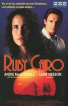 Ruby Cairo - German VHS movie cover (xs thumbnail)