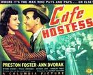 Cafe Hostess - Movie Poster (xs thumbnail)