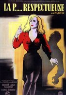 La putain respectueuse - French Movie Poster (xs thumbnail)