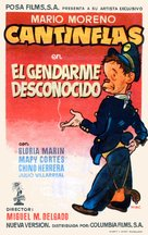 El gendarme desconocido - Spanish Movie Poster (xs thumbnail)