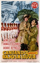 Singin' in the Rain - Spanish Movie Poster (xs thumbnail)