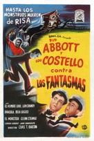 Bud Abbott Lou Costello Meet Frankenstein - Spanish Movie Poster (xs thumbnail)