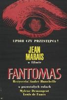 Fantômas - Polish Movie Poster (xs thumbnail)