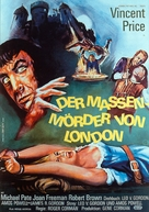 Tower of London - German Movie Poster (xs thumbnail)