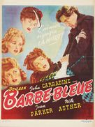 Bluebeard - Belgian Movie Poster (xs thumbnail)