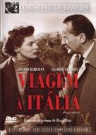 Viaggio in Italia - Brazilian DVD cover (xs thumbnail)