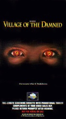 Village of the Damned - VHS movie cover (xs thumbnail)