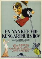 A Connecticut Yankee - Swedish Movie Poster (xs thumbnail)