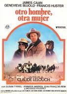 Un autre homme, une autre chance - Spanish Movie Poster (xs thumbnail)