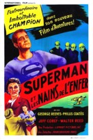 Superman and the Mole Men - French Movie Poster (xs thumbnail)