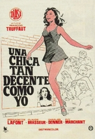 Une belle fille comme moi - Spanish Movie Poster (xs thumbnail)