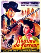 Men of Texas - Belgian Movie Poster (xs thumbnail)