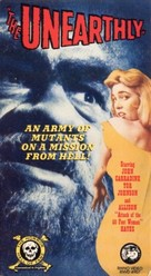 The Unearthly - VHS cover (xs thumbnail)