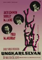 The Apartment - Swedish Movie Poster (xs thumbnail)