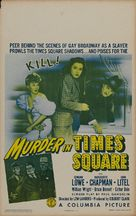 Murder in Times Square - Movie Poster (xs thumbnail)
