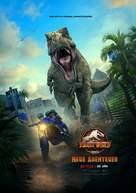 """Jurassic World: Camp Cretaceous"" - German Movie Poster (xs thumbnail)"