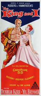 The King and I - Australian Movie Poster (xs thumbnail)