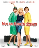 Some Like It Hot - Hungarian Blu-Ray movie cover (xs thumbnail)