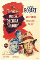 The Treasure of the Sierra Madre - Argentinian Movie Poster (xs thumbnail)