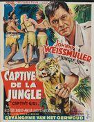 Captive Girl - Belgian Movie Poster (xs thumbnail)