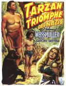 Tarzan Triumphs - Belgian Movie Poster (xs thumbnail)