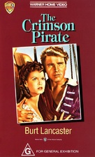 The Crimson Pirate - Australian Movie Cover (xs thumbnail)