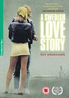 En kärlekshistoria - British DVD cover (xs thumbnail)