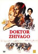 Doctor Zhivago - Danish DVD movie cover (xs thumbnail)