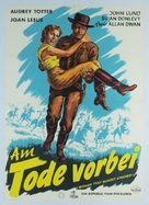 Woman They Almost Lynched - German Movie Poster (xs thumbnail)