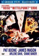 Journey to the Center of the Earth - German DVD movie cover (xs thumbnail)