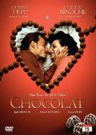 Chocolat - Norwegian DVD cover (xs thumbnail)